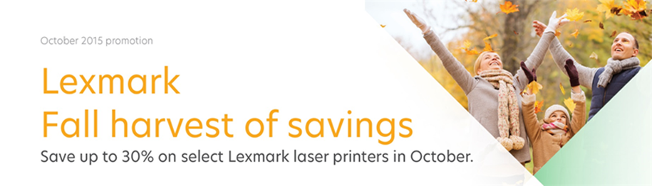 Lexmark October Promotions_CA